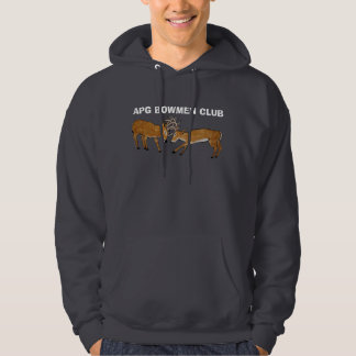APG BOWMEN CLUB-HOODED SWEATSHIRT