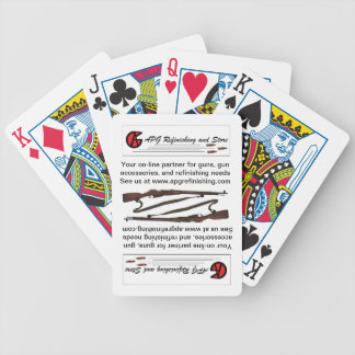 APG Refinishing and Store playing cards