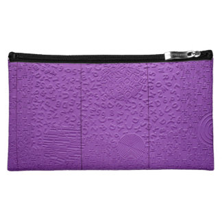 Aphasia in Purple Cosmetics Bags