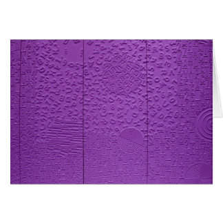 Aphasia in Purple Cards