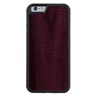Aphasia in Purple Carved® Walnut iPhone 6 Bumper Case