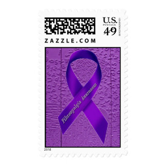 Aphasia in Purple - FMS Awareness Stamp