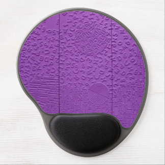 Aphasia in Purple Gel Mouse Mats
