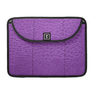Aphasia in Purple Sleeve For MacBook Pro