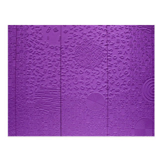 Aphasia in Purple Postcards
