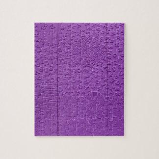 Aphasia in Purple Puzzles