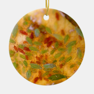 Aphids Infestation Ceramic Ornament