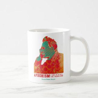 Aphorism -Friedrich Nietzsche- Coffee Mug
