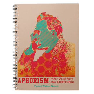 Aphorism -Friedrich Nietzsche- Notebook