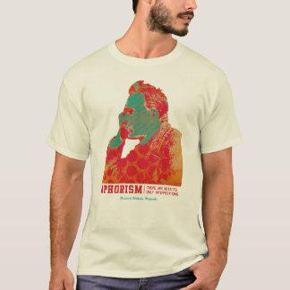 Aphorism -Friedrich Nietzsche- T-Shirt