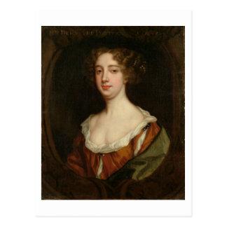 Aphra Behn (1640-89) (aceite en lona) Tarjeta Postal