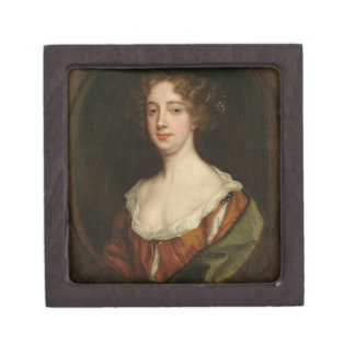 Aphra Behn (1640-89) (oil on canvas) Gift Box