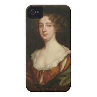 Aphra Behn (1640-89) (oil on canvas) iPhone 4 Case-Mate Case