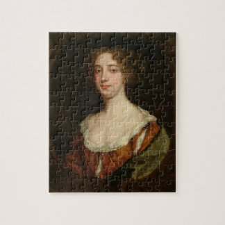 Aphra Behn (1640-89) (oil on canvas) Jigsaw Puzzle