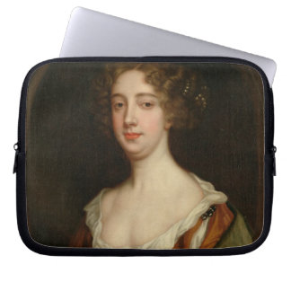 Aphra Behn (1640-89) (oil on canvas) Laptop Sleeve
