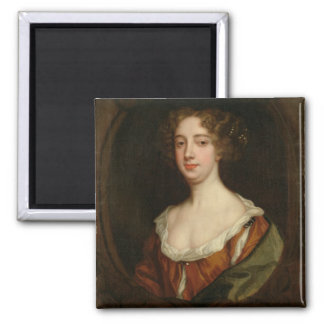 Aphra Behn (1640-89) (oil on canvas) Magnet