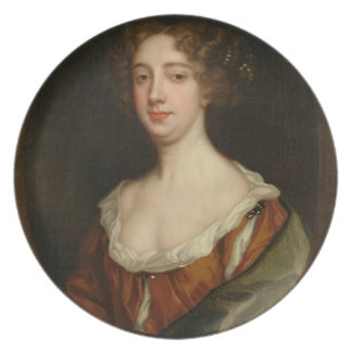 Aphra Behn (1640-89) (oil on canvas) Plate