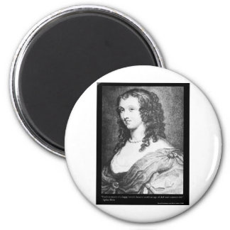 Aphra Behn Love Quote tees cards gifts etc 2 Inch Round Magnet