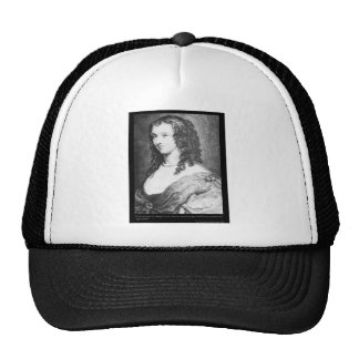Aphra Behn Love Quote tees cards gifts etc Mesh Hat