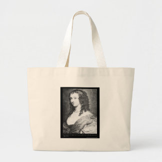 Aphra Behn Love Quote tees cards gifts etc Large Tote Bag