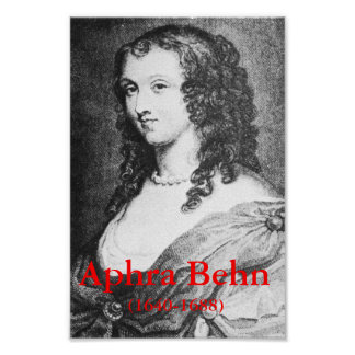 Aphra Behn Poster