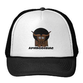 Aphrodisiac Funny Afro Dizzy Yak Trucker Hat