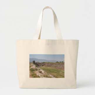 Aphrodisias Stadium From The East Tote Bag