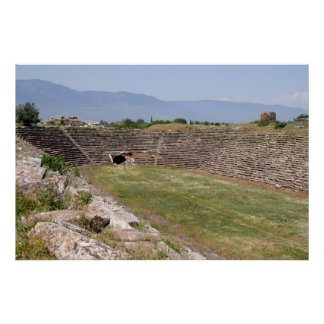 Aphrodisias Stadium From The East Posters