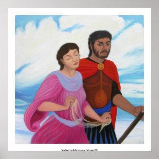 Aphrodite and Ares, Big Sky Poster