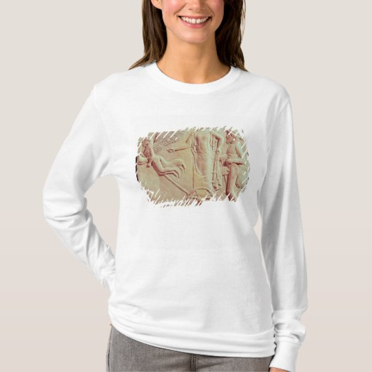 Aphrodite and Hermes riding on a chariot T-Shirt