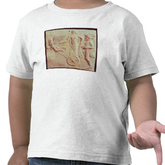 Aphrodite and Hermes riding on a chariot Tee Shirts