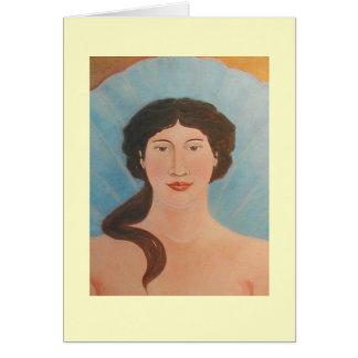 Aphrodite Bodhisattva Icon Card