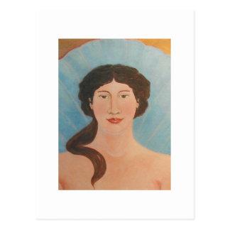 Aphrodite Bodhisattva Icon Postcard