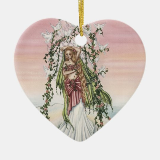 Aphrodite Ceramic Ornament