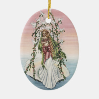 Aphrodite Ceramic Ornament
