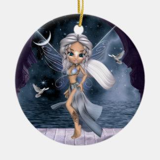 Aphrodite Fairy Ceramic Ornament
