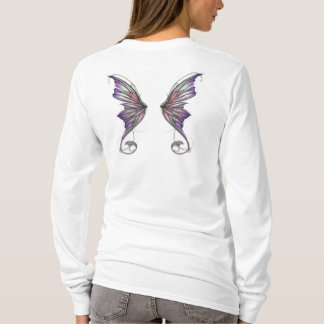 Aphrodite Lavender Fairy Wings T-Shirt
