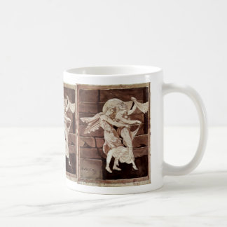 Aphrodite Leads Paris To A Duel With Menelaus By J Classic White Coffee Mug