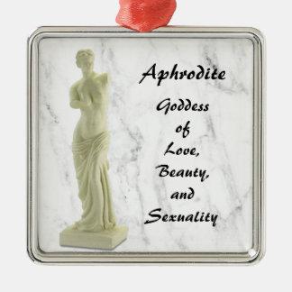Aphrodite Metal Ornament