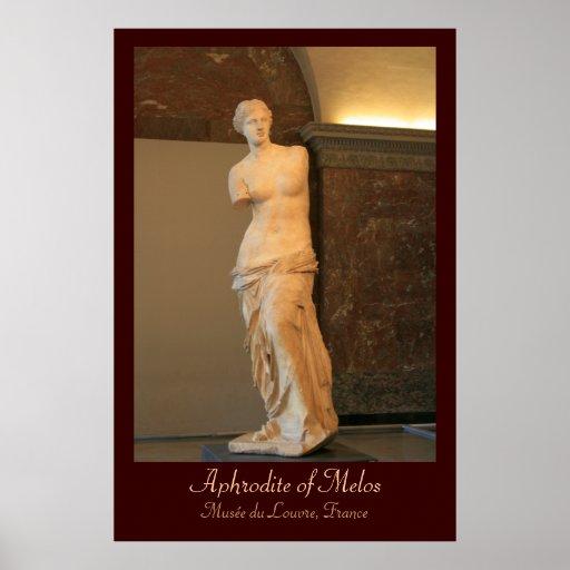 Aphrodite of Melos - Venus de Milo Poster