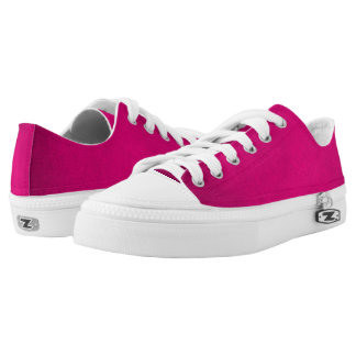 Aphrodite Pink Love Grunge Leather Low-Top Sneakers