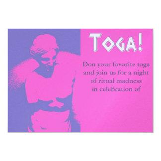 Aphrodite Toga 5x7 Paper Invitation Card