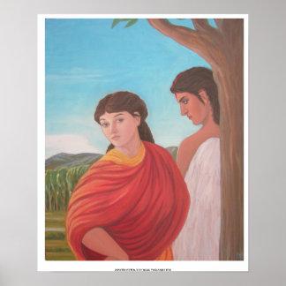 Aphrodite y eros impresiones