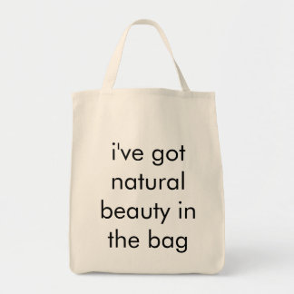 Aphros Natural Beauty In The Bag Organic Tote
