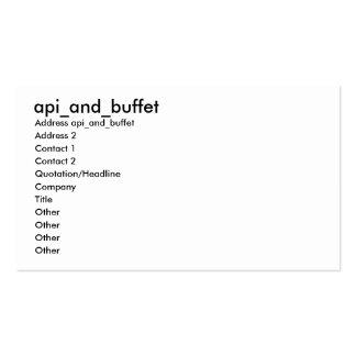 api\_and\_buffet, Address api\_and\_buffet, Add... Business Card