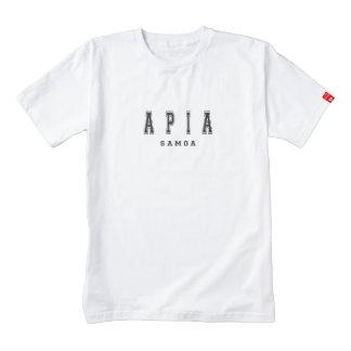 Apia Samoa Playera Zazzle HEART