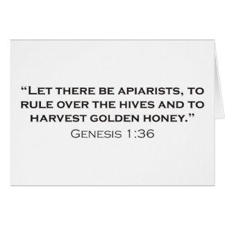 Apiarist / Genesis Card