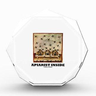 Apiarist Inside (Tacuina sanitatis 14th Century) Acrylic Award