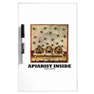 Apiarist Inside (Tacuina sanitatis 14th Century) Dry-Erase Whiteboard