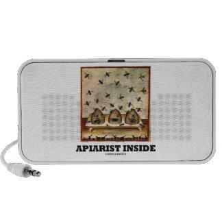 Apiarist Inside (Tacuina sanitatis 14th Century) Portable Speaker
